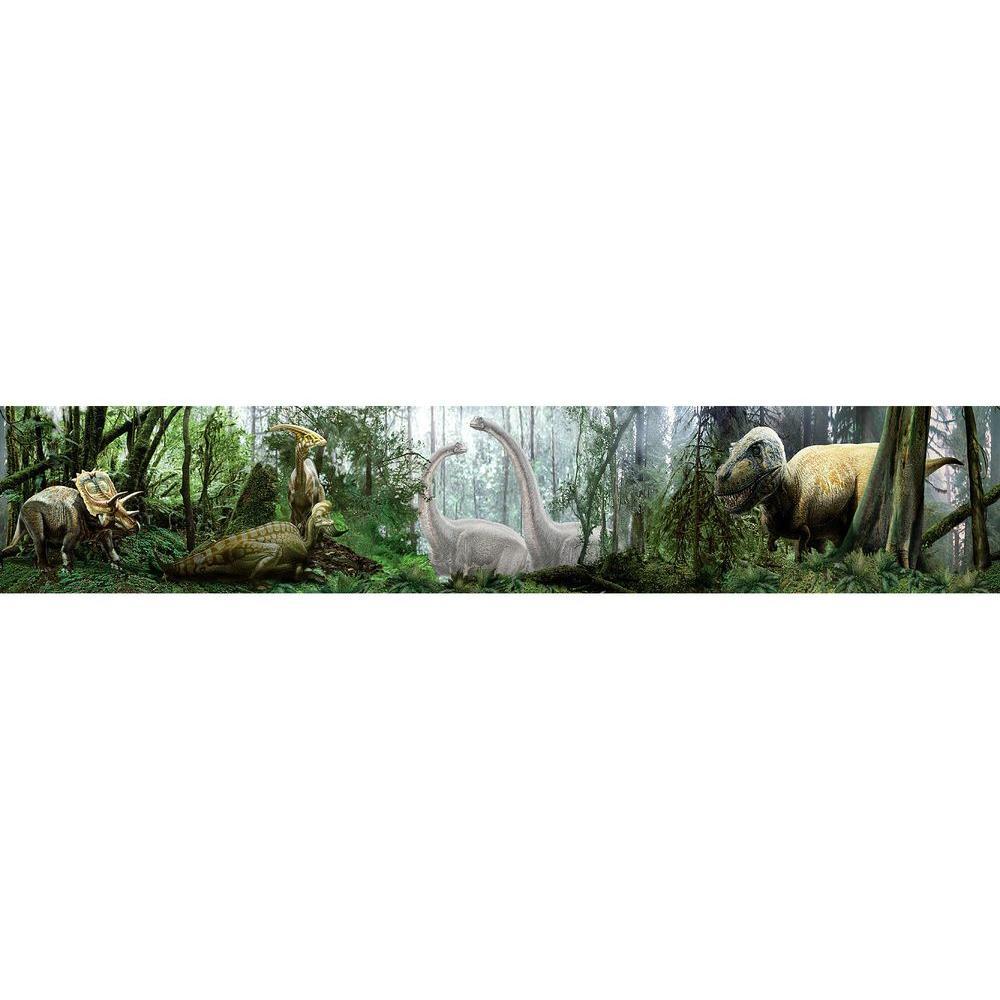 National Geographic Dinosaurs Wallpaper Border Sample