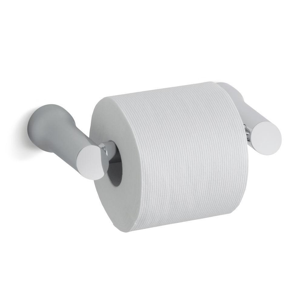 Superior KOHLER Toobi Double Post Toilet Paper Holder In Polished Chrome K. Strikingly  Design Porcelain ...
