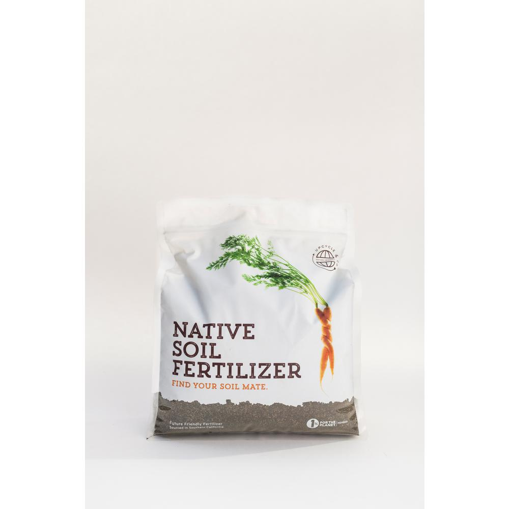 NativeSoil Native Soil 4 lbs. Natural Dry Fertilizer and Soil Conditioner