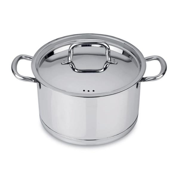 BergHOFF CollectNCook 10 in. Stainless Steel Stock Pot with Lid 4490001