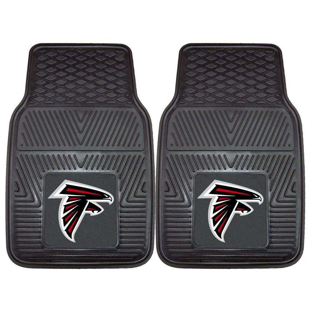 Atlanta Falcons 18 in. x 27 in. 2-Piece Heavy Duty Vinyl Car Mat
