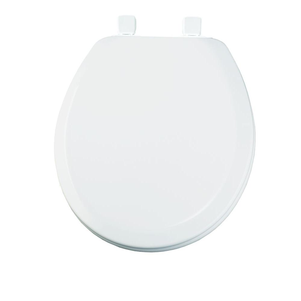 Prime Bemis Lift Off Never Loosens Round Closed Front Toilet Seat In White Beatyapartments Chair Design Images Beatyapartmentscom