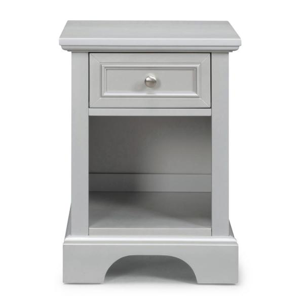 Home Styles Venice Gray Night Stand