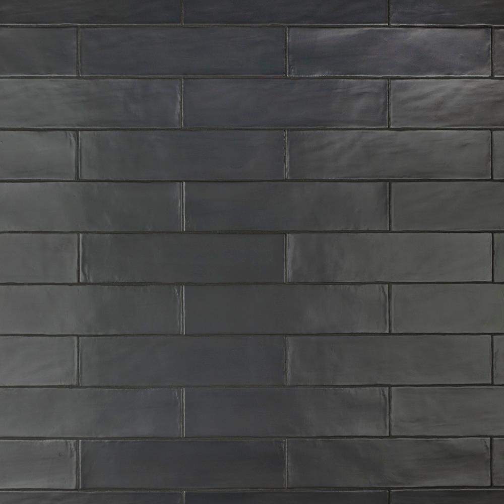 - Merola Tile Chester Matte Nero 3 In. X 12 In. Ceramic Wall Subway