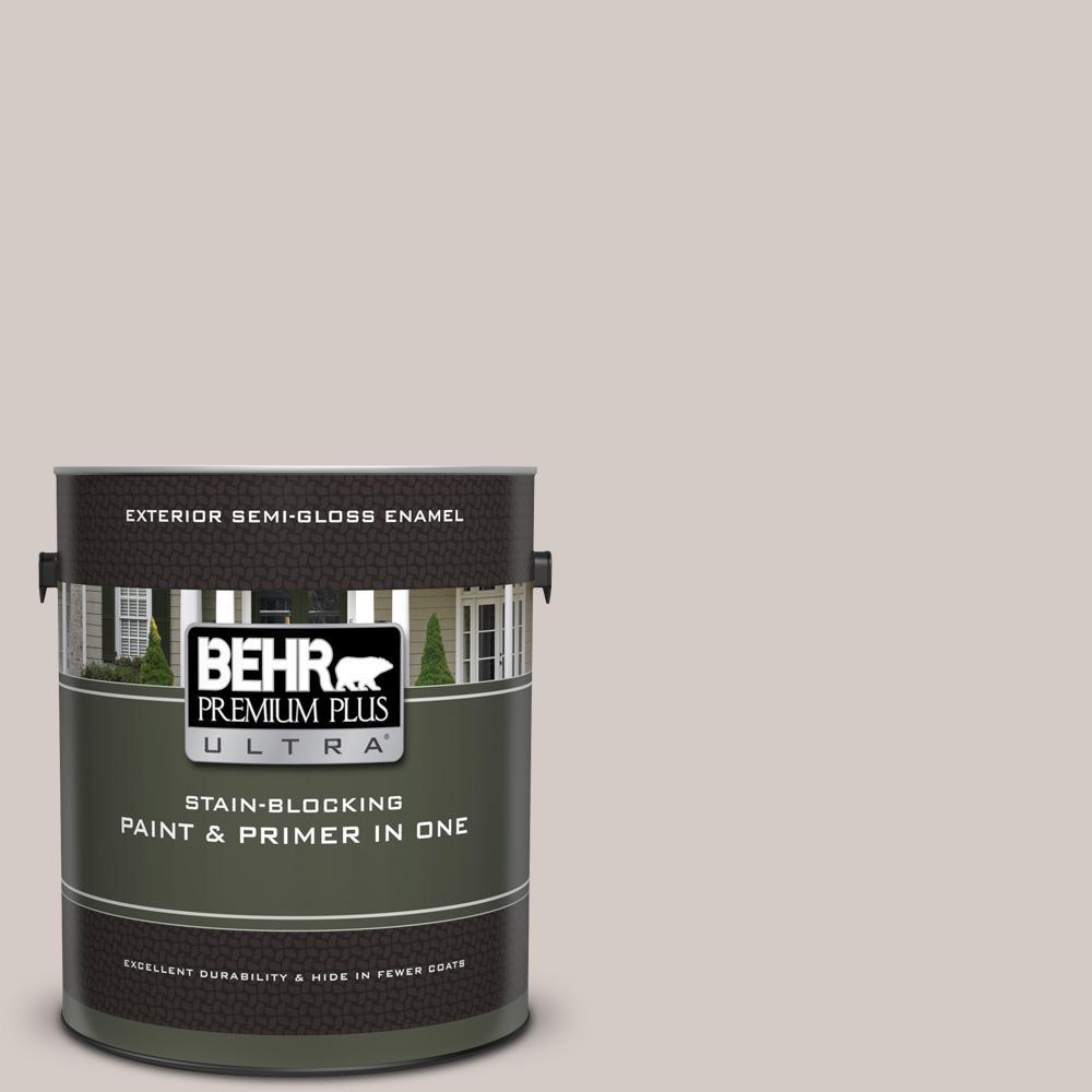 Behr Premium Plus Ultra 1 Gal Ppu18 09 Burnished Clay Semi Gloss