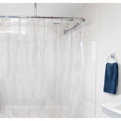 Peva 72 in. x 72 in. Clear Shower Curtain Liner