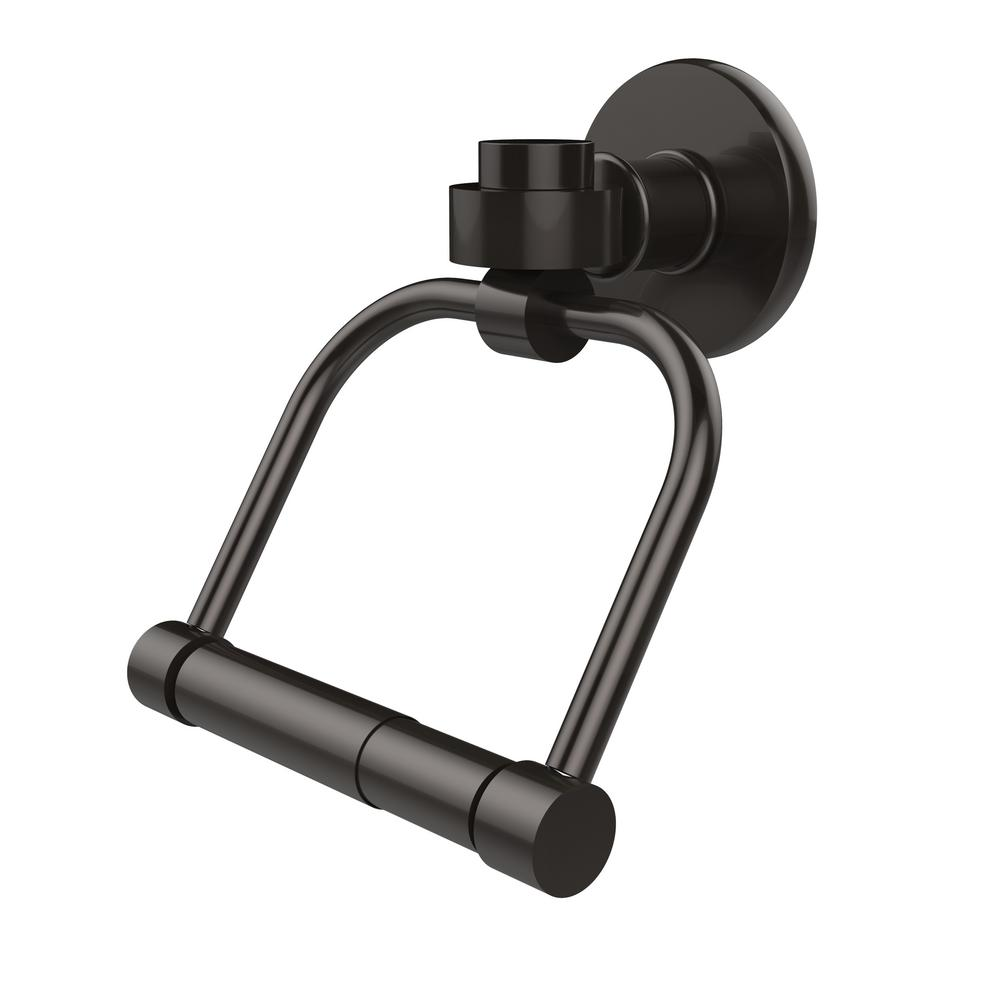 Allied Brass Continental Collection Single Post Toilet Paper Holder in Oil Rubbed Bronze