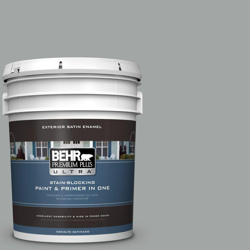 BEHR Premium Plus Ultra 5 gal. #PPU25-04 Sharkskin Suit S...
