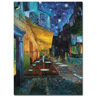 35 in. x 47 in. Cafe Terrace Canvas Art
