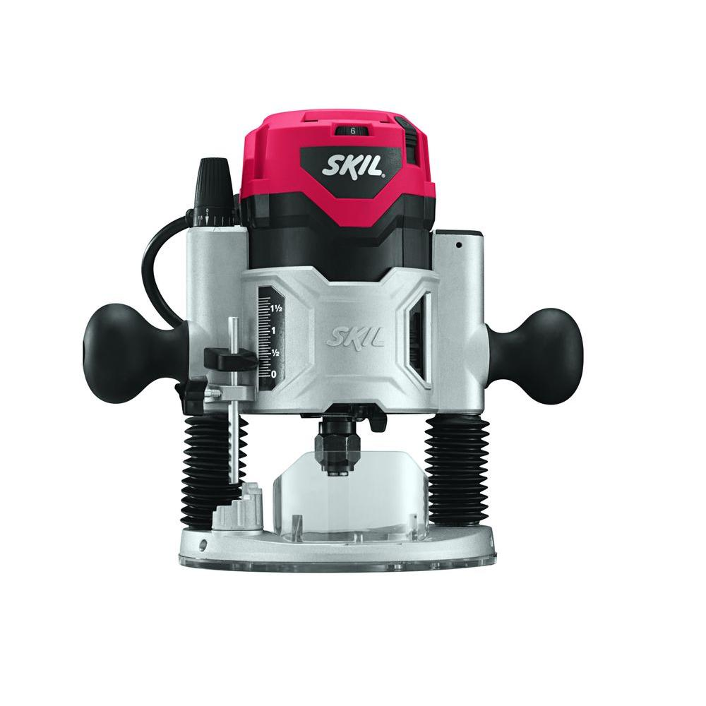 Skil 10 Amp 2 HP Corded Plunge Base Router