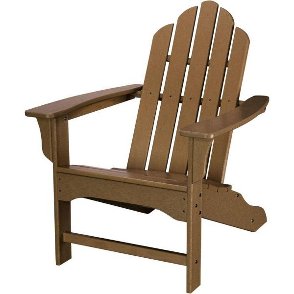 All-Weather Patio Adirondack Chair in Teak