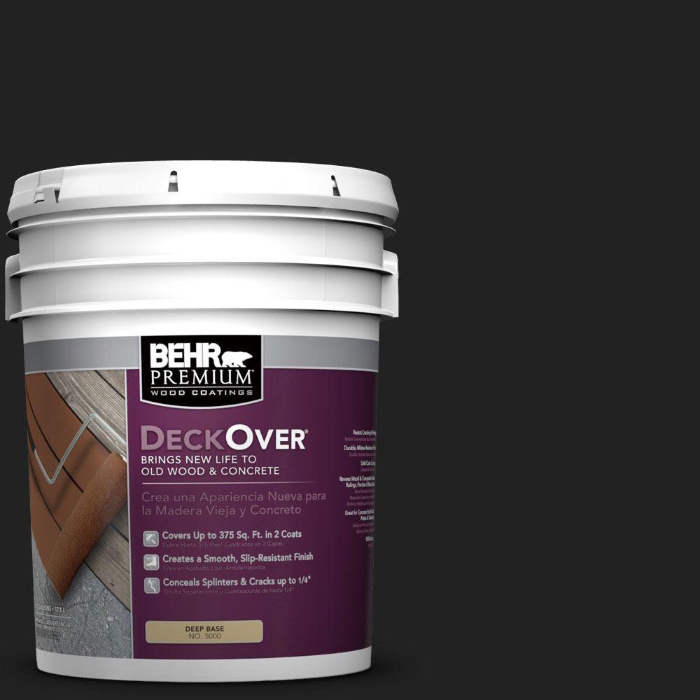 BEHR Premium DeckOver 5 gal. #SC-102 Slate Wood and Concrete Coating