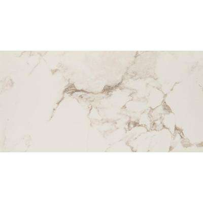 Statuario 16 in. x 32 in. Glazed Porcelain Floor and Wall Tile (9 cases / 96.03 sq. ft. / pallet)