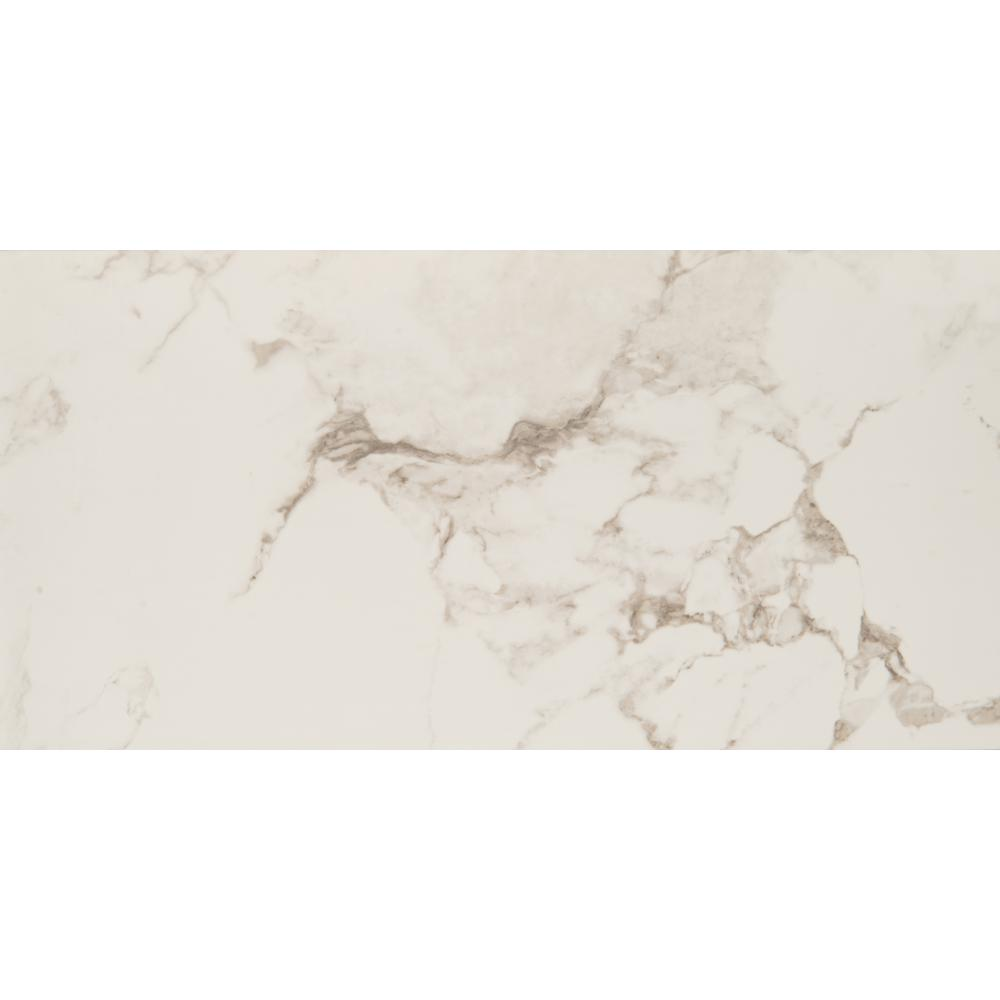 Msi statuario 16 in x 32 in glazed porcelain floor and wall tile glazed porcelain floor and wall tile dailygadgetfo Image collections