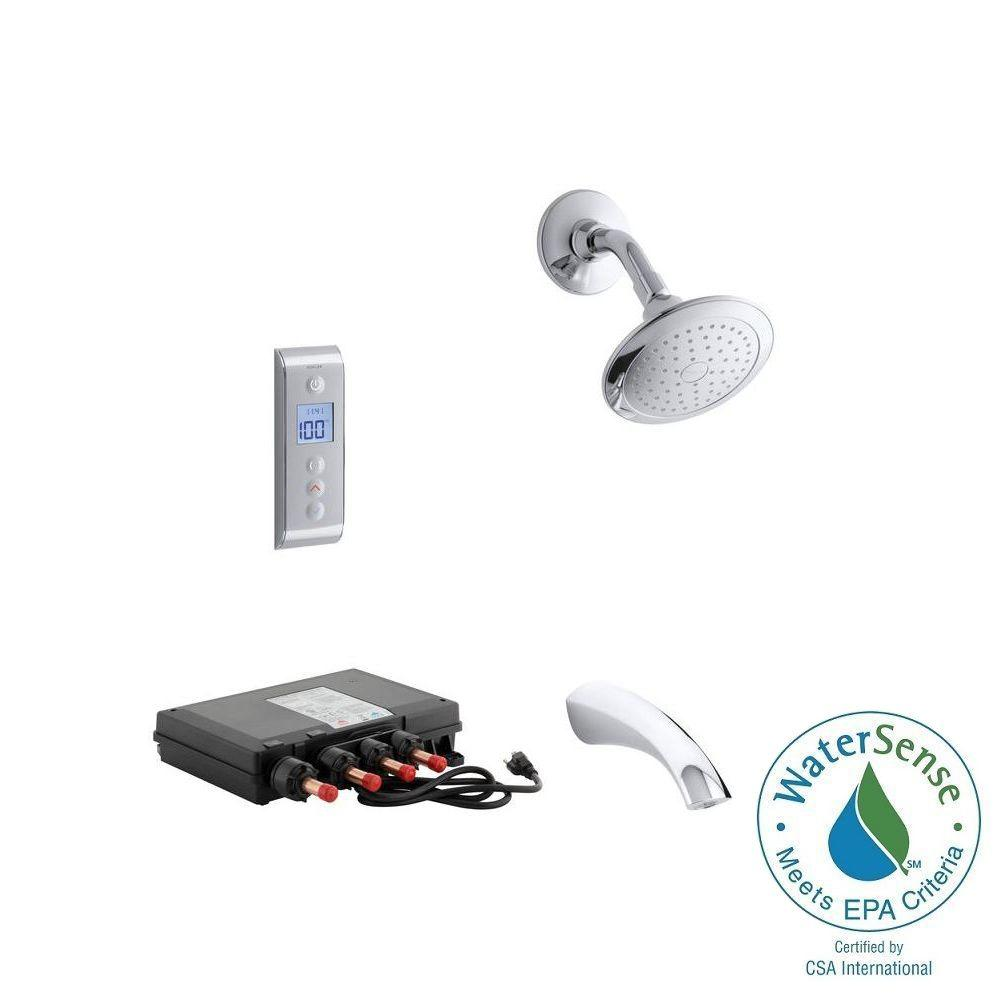 Hansgrohe Focus S Shower System Combo In Brushed Nickel
