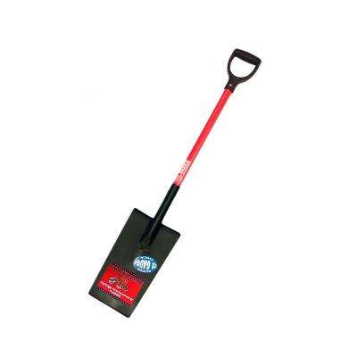 12-Gauge Edging and Planting Spade with Fiberglass D-Grip Handle