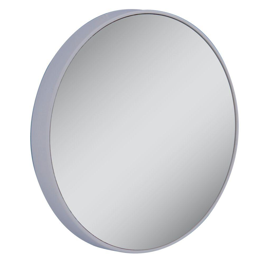 Zadro 20X Extreme Magnification Spot Makeup Mirror in Gray FC20X