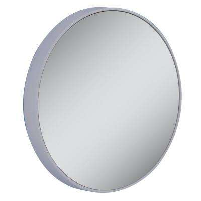 20X Extreme Magnification Spot Makeup Mirror in Gray