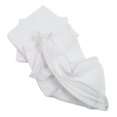Value 28 in. x 29 in. Bright White Flour Sack Towel (12-Pack)