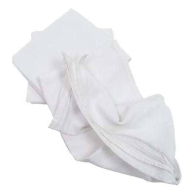 Value 24 in. x 36 in. Bright White Flour Sack Towel (12-Pack)