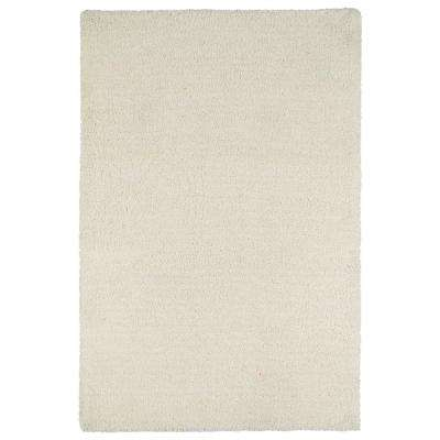 Stratus Shag White 8 ft. x 10 ft. Area Rug