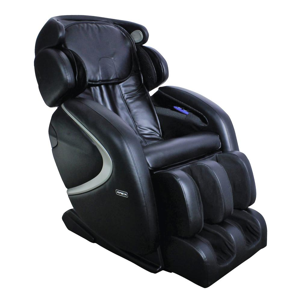 Titan TITAN Osaki Black Faux Leather Reclining Massage Chair