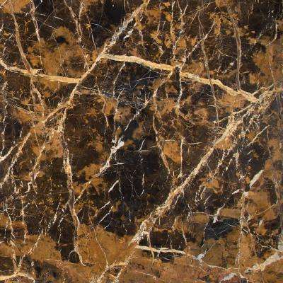 Michael Angelo 12 in. x 12 in. Polished Marble Floor and Wall Tile (10 sq. ft. / case)