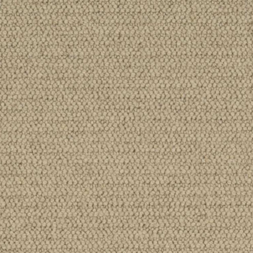 Carpet Sample - Hampton Rib - Color Oatmeal Loop 8 in. x 8 in.