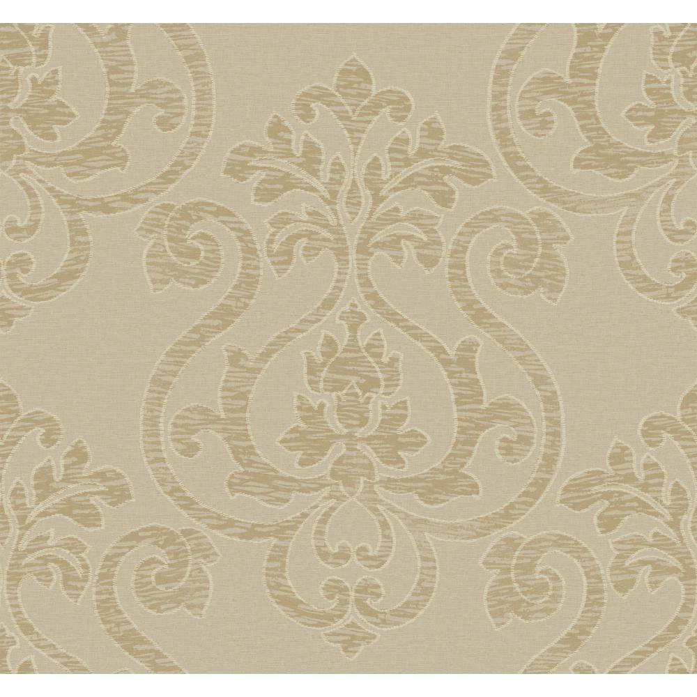 Glam Large Medallion Wallpaper