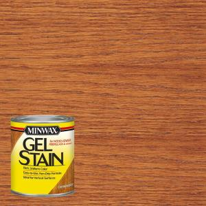 Minwax 1 qt cherrywood gel stain 66070 the home depot - Interior wood stain colors home depot ...