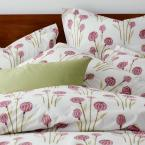 The Company Store Lantern Floral Multi 200-Thread Count Cotton Percale King Fitted Sheet