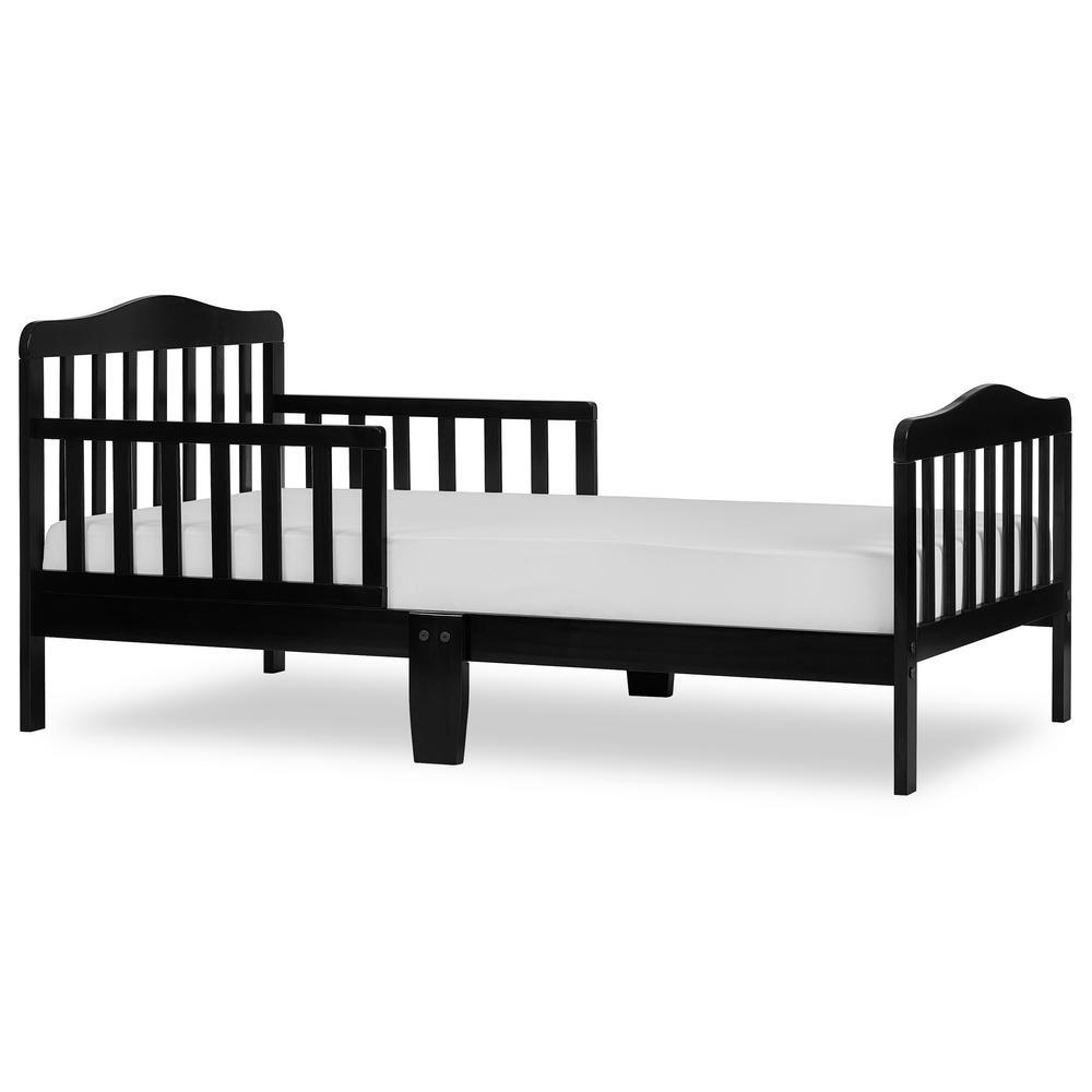 Classic Design Black Toddler Bed