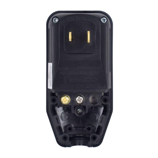 ELEGRP G1215PA2 Auto Reset GFCI Replacement Plug Assembly 15 Amp 2 Wires NEMA 1