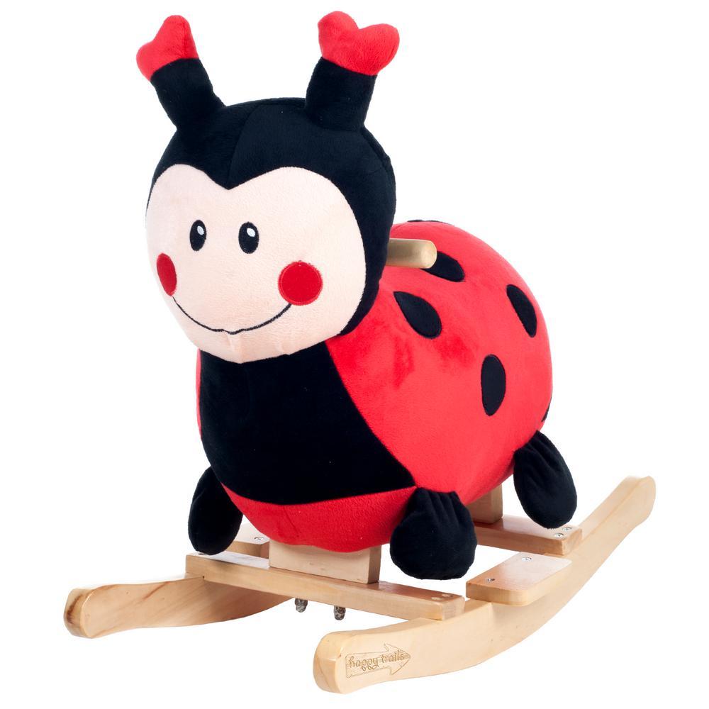 Plush Rocking Lucy the Ladybug