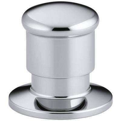Deck-Mount 2-Way Diverter Valve in Polished Chrome
