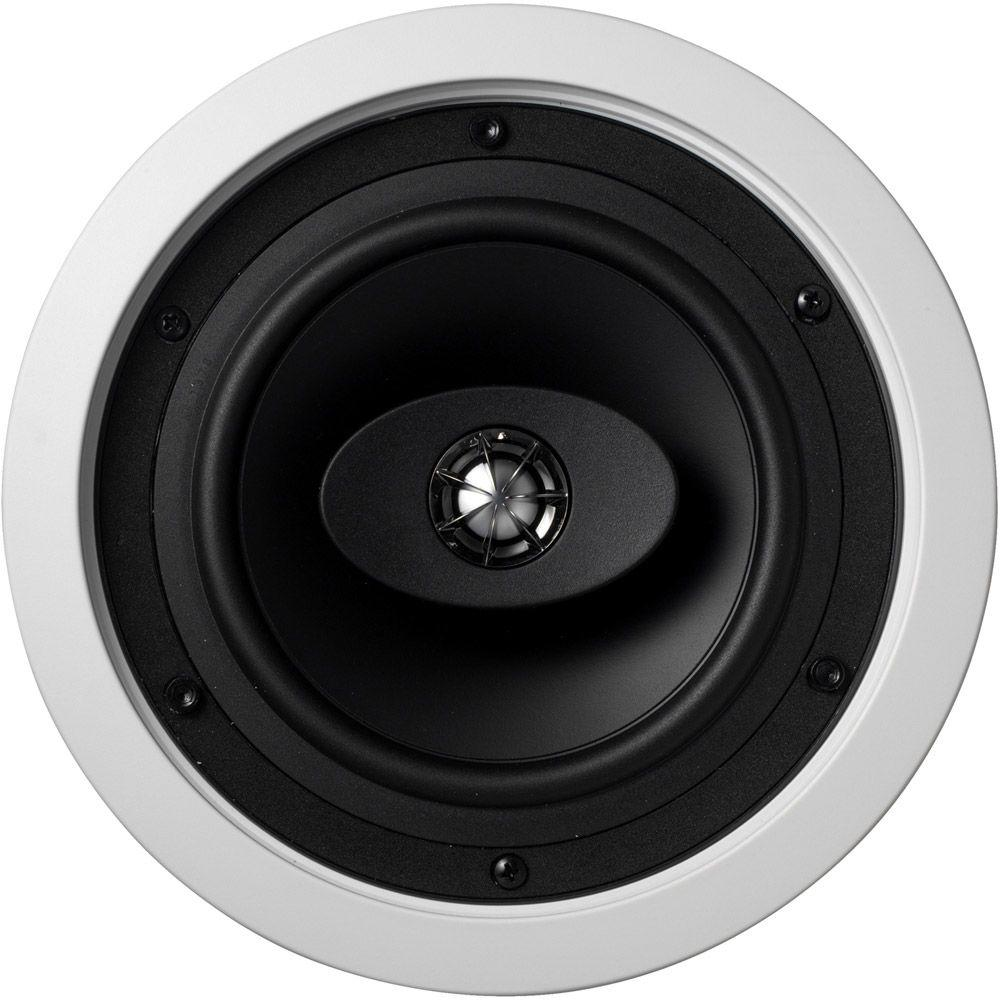 KEF 6-1/2 in. 100-Watt 2-Way In-Wall and Ceiling Square Speakers-DISCONTINUED
