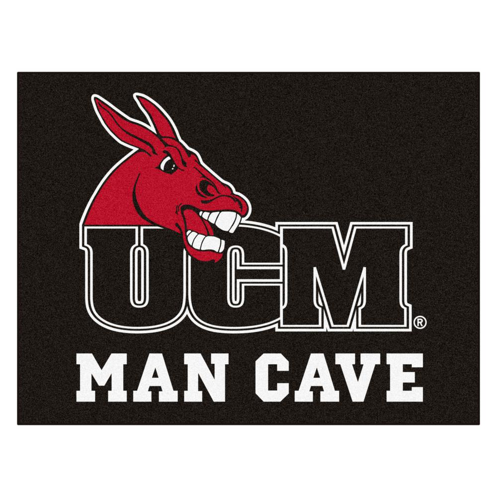 NCAA University of Central Missouri 3 ft. x 4 ft. Man