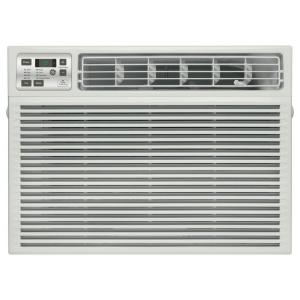 Ge 17 600 btu 230 volt electronic heat cool room window for 18 inch window air conditioner
