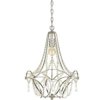 Castile 1-Light Chrome Mini Chandelier