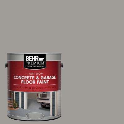 1 Gal. #BNC-17 Casual Gray 1-Part Epoxy Concrete and Garage Floor Paint