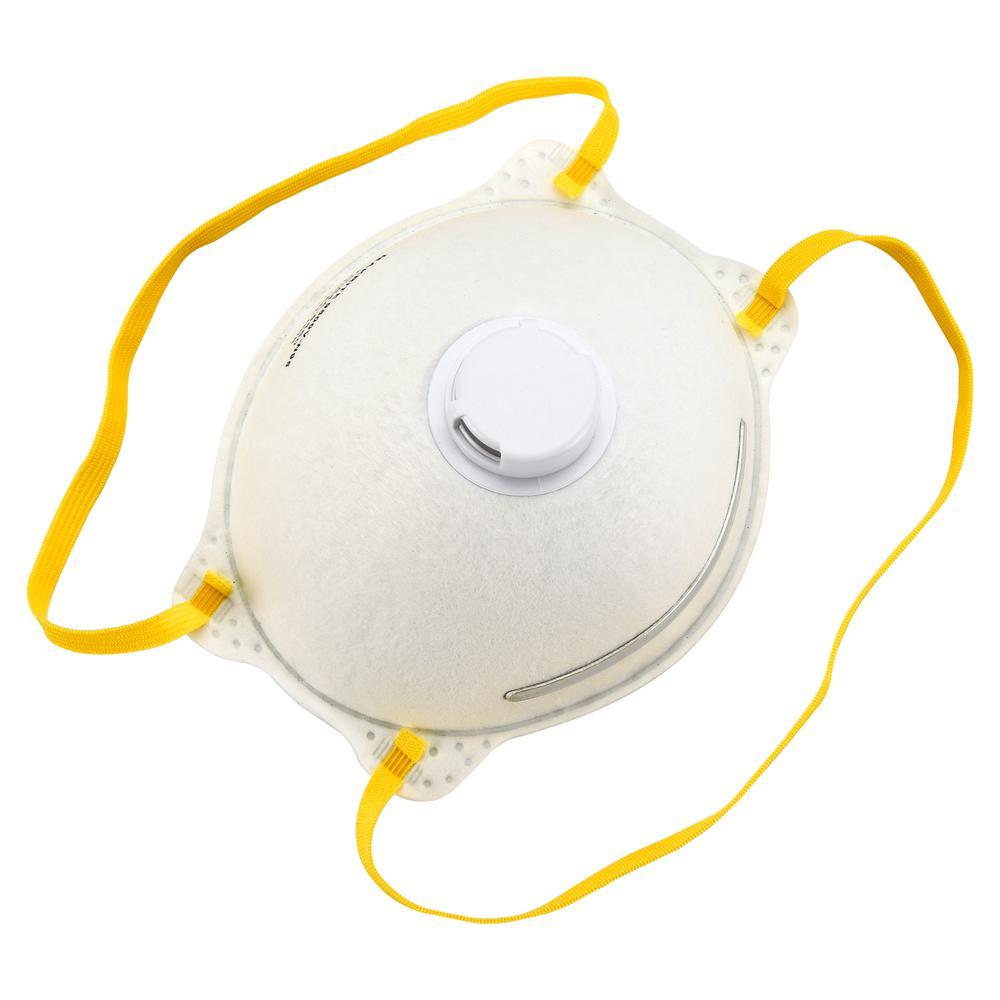 safety works 10-pack n95 exhalation valve mask