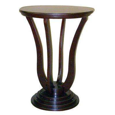 Dita Cherry End Table