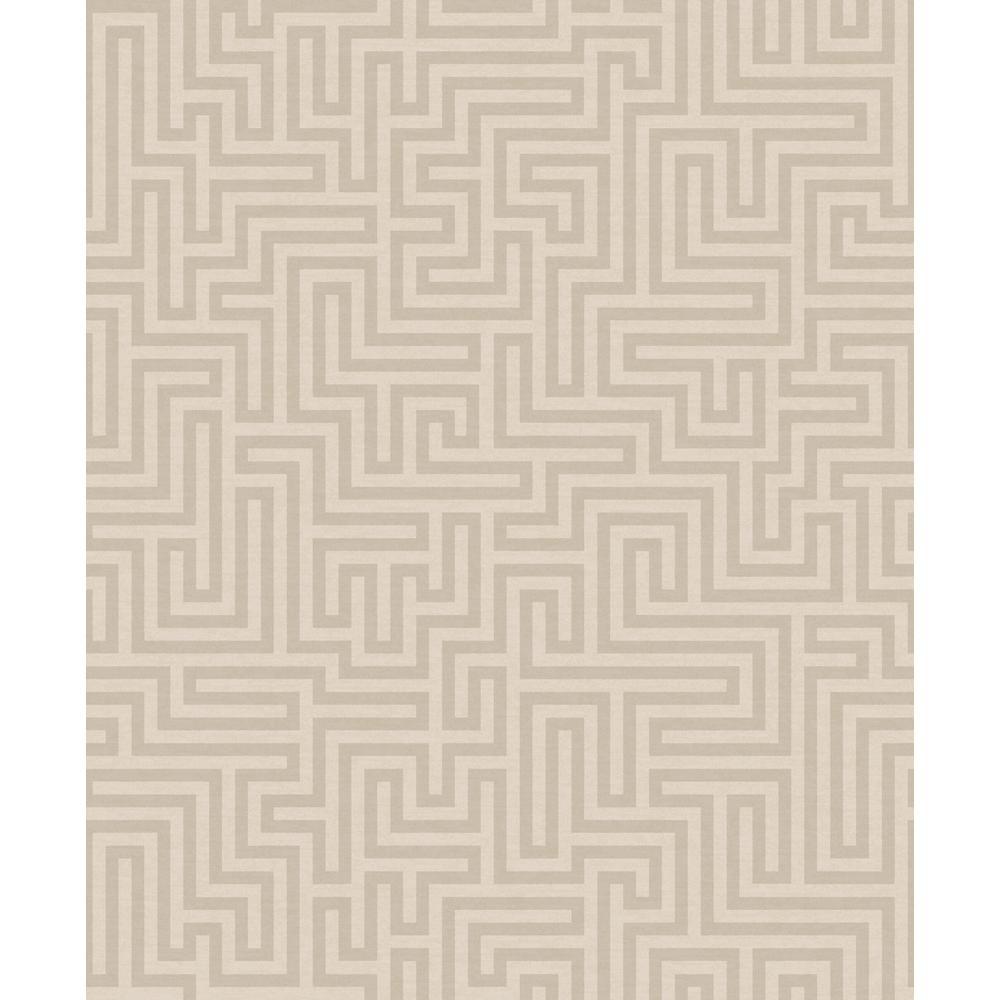 White Maze Wallpaper