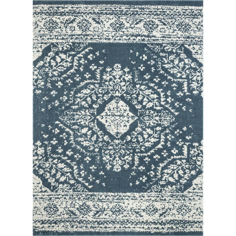 Well Woven Cedar Pax Vintage Bohemian Medallion Blue 7 ft. 10 in. x 9 ft. 10 in. Area Rug was $189.0 now $151.2 (20.0% off)