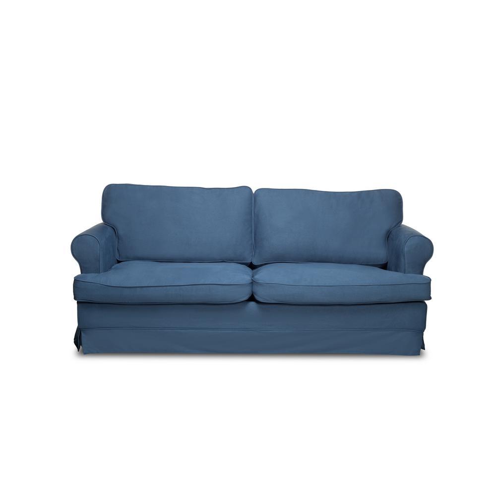 Spencer Harbor Blue Sofa