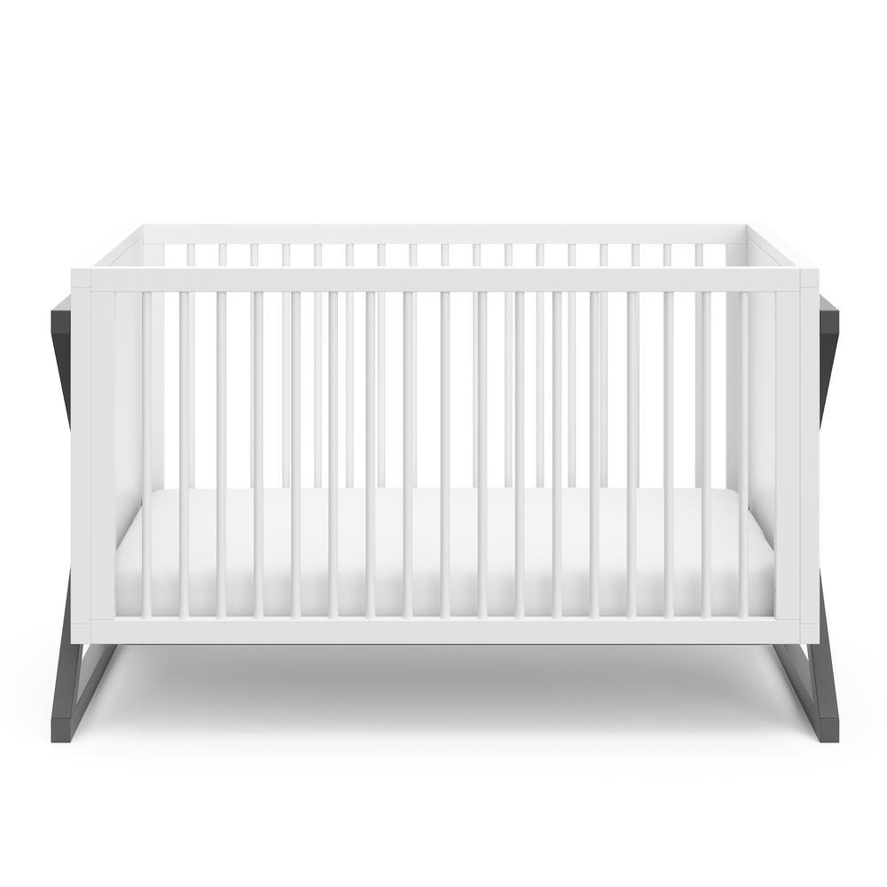 Equinox Gray 3 in-1-Convertible Crib
