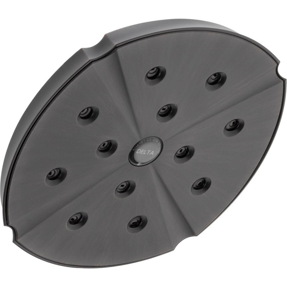 Addison H2Okinetic 1-Spray 8 in. Fixed Shower Head in Venetian Bronze