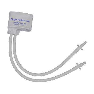 Two-Tube Single-Patient Use Neonatal Cuff