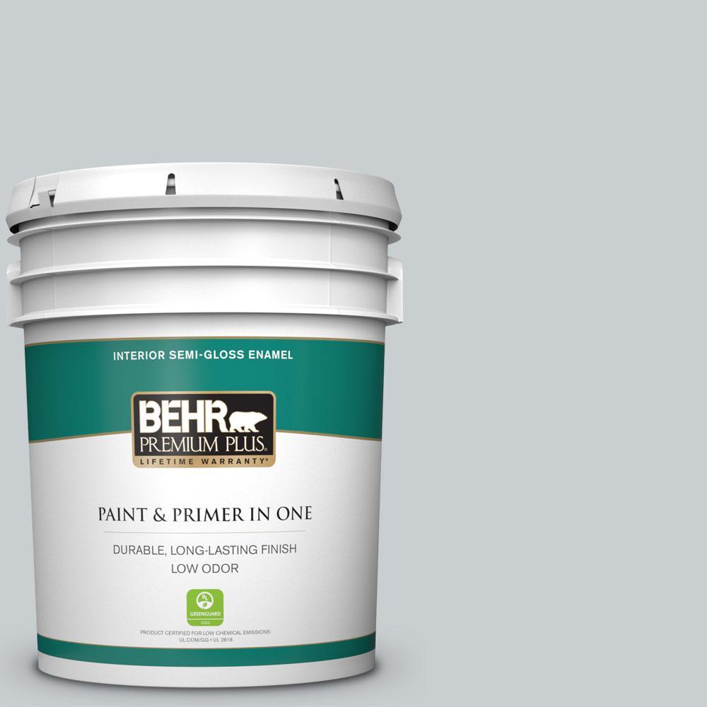 760e 2 Manhattan Mist Semi Gloss Enamel Low Odor Interior Paint And Primer In One