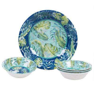 Tropicana Multicolor Salad/Serving Set (Set of 5)